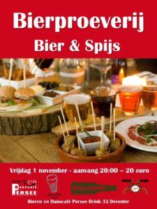 Proeverij bier en tapas @ Bierencafé Persee