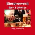 Proeverij bier en jenever @ Bierencafé Persee